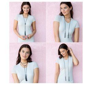 Kendra Scott Phara Tassel Lariat Necklace NEW